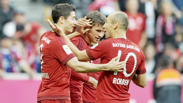 Bayern işi 40 dakikada bitirdi!