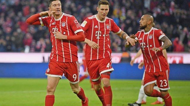 Bayern seriye devam etti