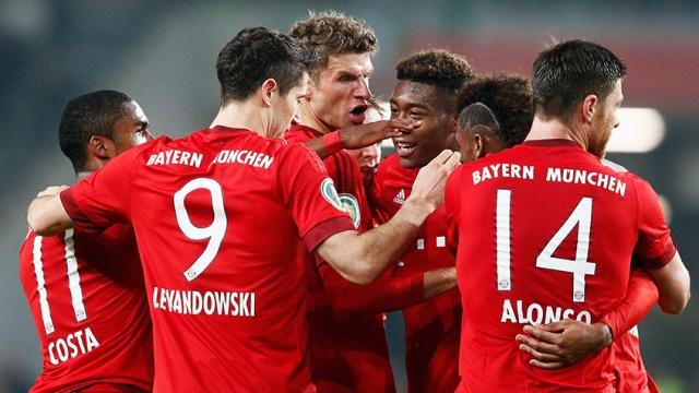 Bayern yine ezdi geçti!