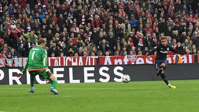 Müthiş maçta turlayan Atletico!