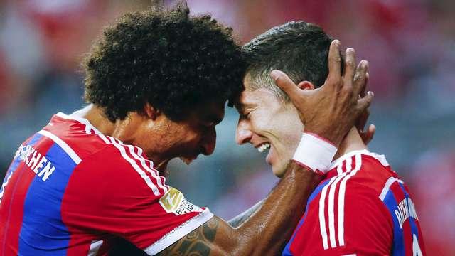 Bayern Hannover'i farklı geçti