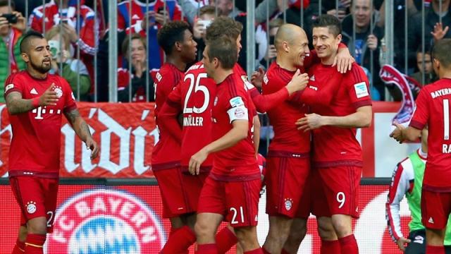 Bayern durdurulamıyor!