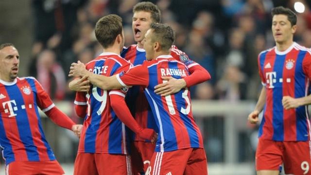 Bayern Münih abarttı!