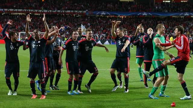 Bayern yarı finalde!