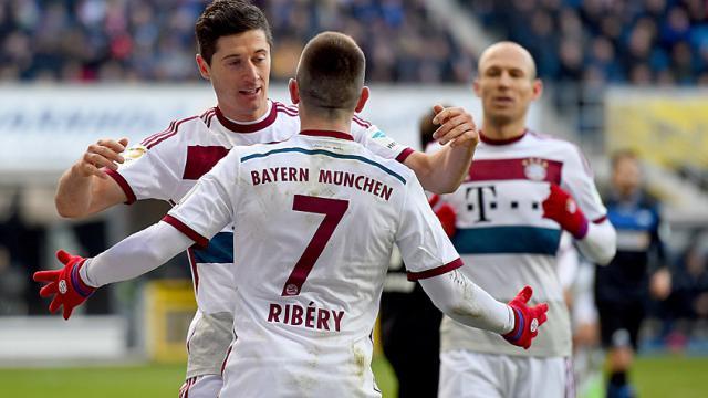 Bayern yine gol olup yağdı