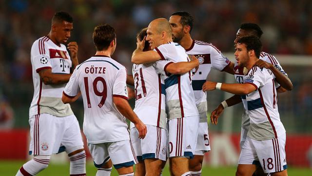 Roma'da tam sekiz gol!