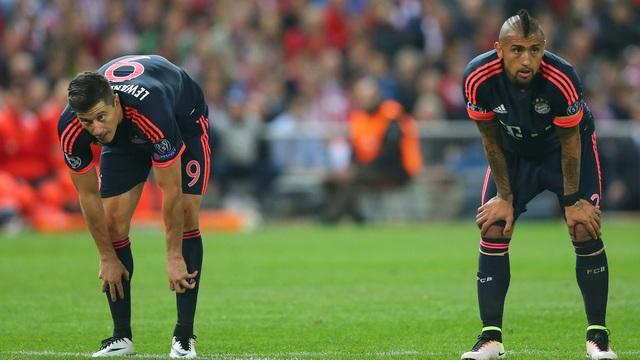 Atletico Bayern'e geçit vermedi