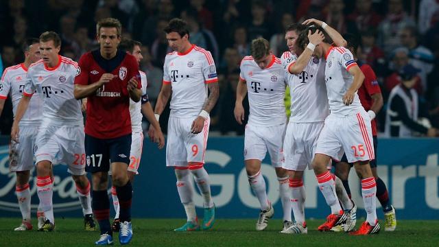 Bayern'den Tek Kurşun