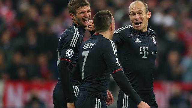 Bayern Gol Olup Yağdı