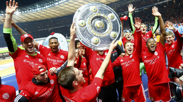 Bayern rekorlara doymadı!