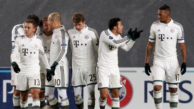 Bayern'in keyfi yerinde