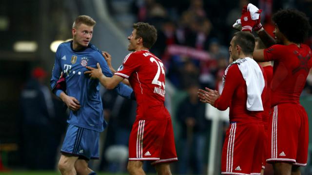 Bayern güle oynaya