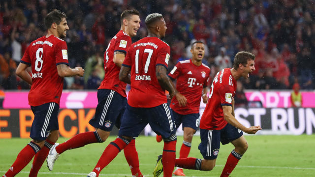 Bayern kazanarak başladı