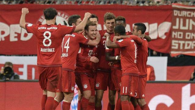 Bayern Dortmund'u ezdi geçti