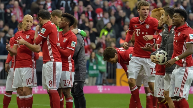 Bayern Hamburg'u affetmiyor
