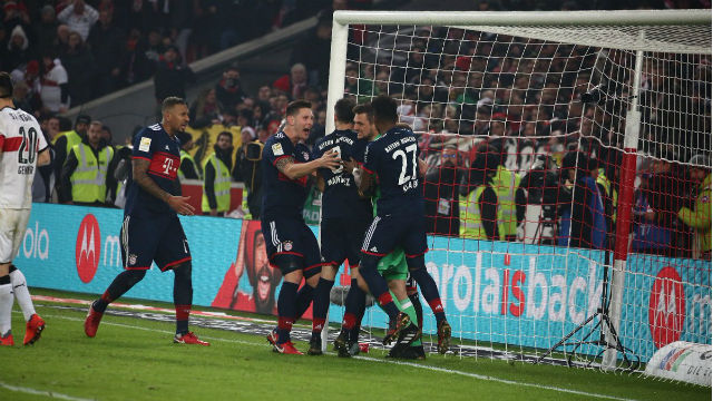 Bayern Münih tek golle güldü