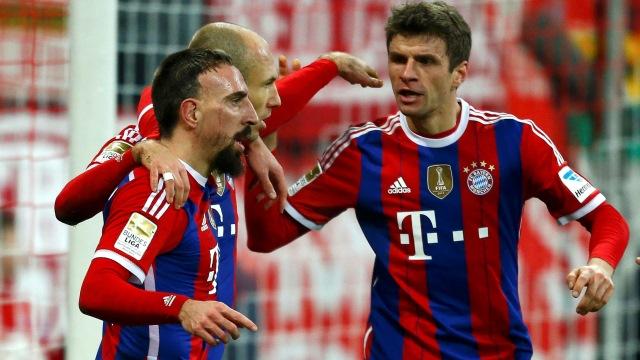 Bayern adeta bozguna uğrattı!
