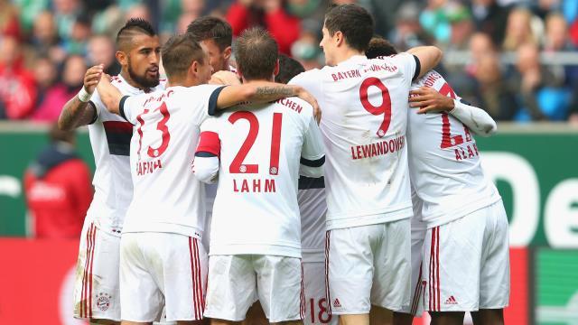 Bayern tarihi baştan yazdı
