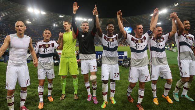 Bayern Roma'yı yaktı, tarih 7-1'i yazdı