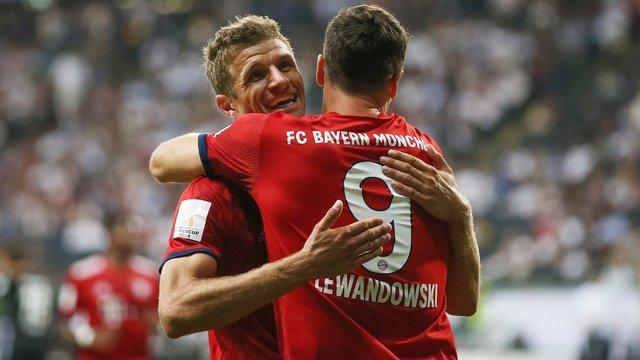 Müller Lewandowski'yi göklere çıkardı