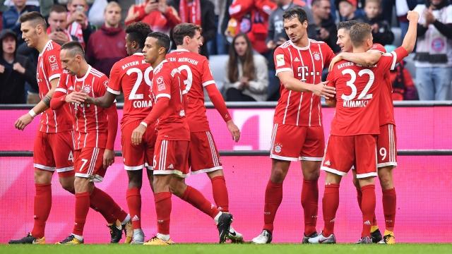 Bayern şov yaptı