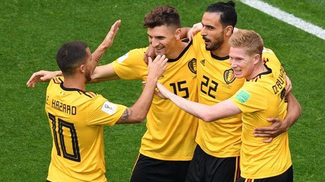 Belçika İngiltere'yi devirdi, üçüncü oldu!