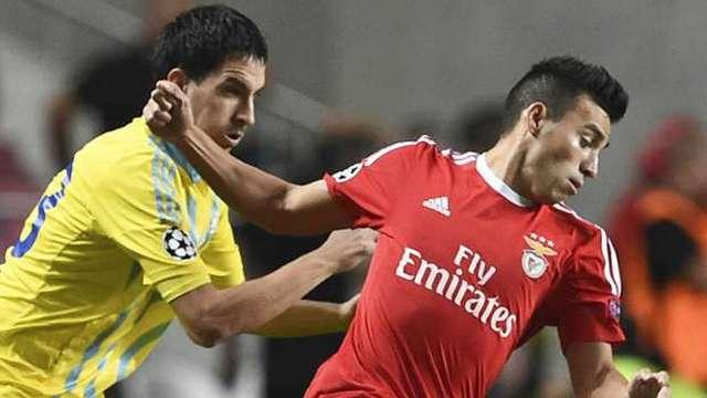 Benfica sonradan açıldı