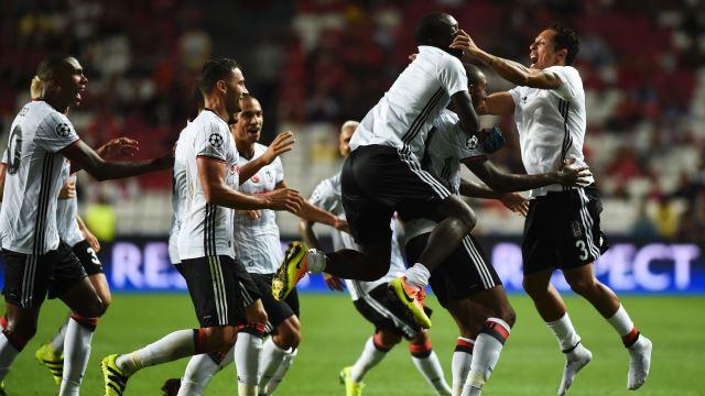 Beşiktaş, gecenin en iyisi oldu!