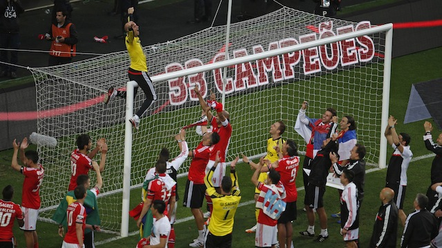 Benfica şampiyon oldu!