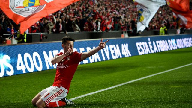 Benfica, Braga'ya gol oldu yağdı