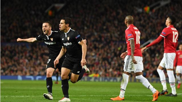 Sevilla Old Trafford'da 'şeytan' çıkardı