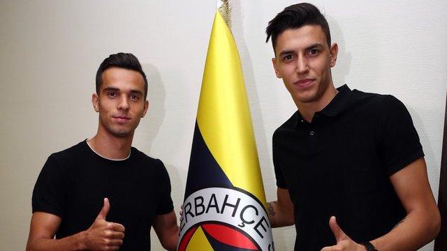 Berke Özer ve Barış Alıcı Fenerbahçe'de