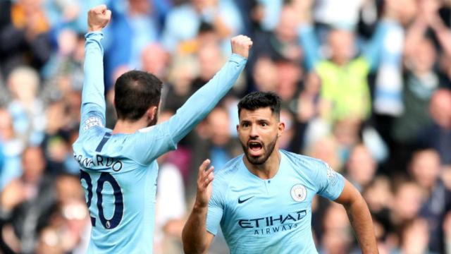 Manchester City evinde Burnley'i farklı geçti