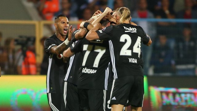 Beşiktaş liderlik hasretini bitirdi