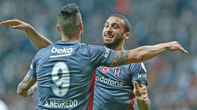Beşiktaş golcüleriyle farklı!