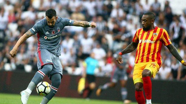 Beşiktaş Kayserispor'la yenişemedi