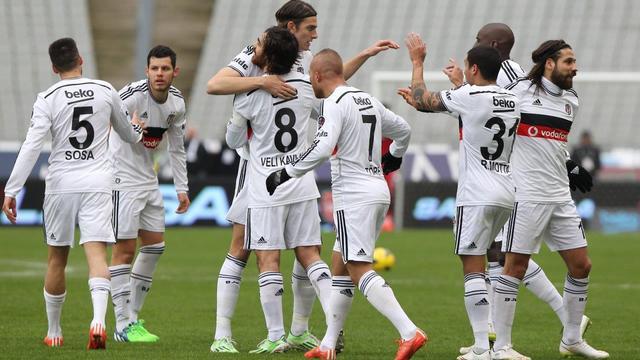 Beşiktaş, Eskişehirspor virajında
