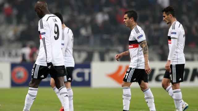 Beşiktaş'ın Avrupa rüyası bitti
