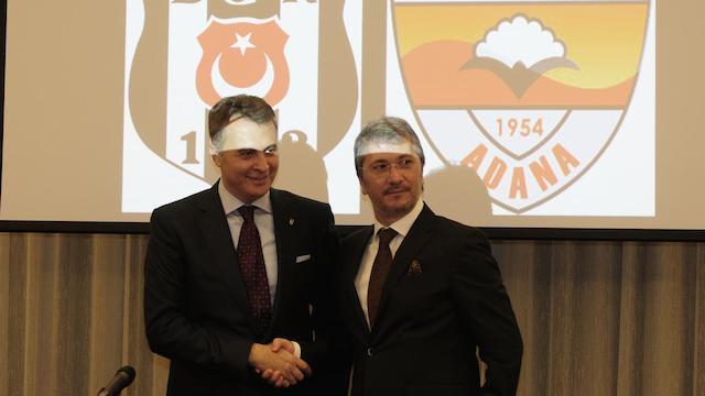 Beşiktaş'tan dostluk imzası