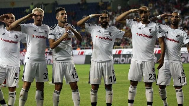 Beşiktaş'tan GOL ŞOV