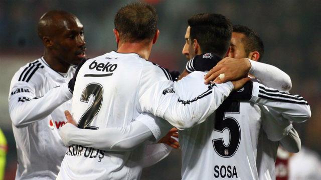 Beşiktaş çeyrek final yarışında