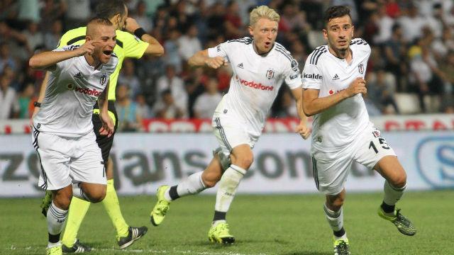 Beşiktaş deplasmanda bir başka
