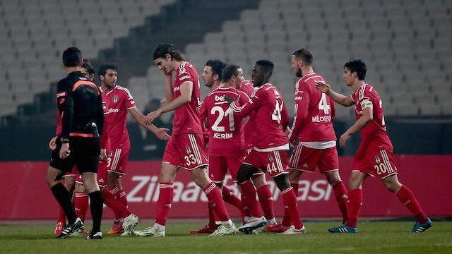 Beşiktaş tur umutlarını sürdürdü