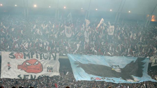 PFDK'dan Beşiktaş'a tribün kapama cezası