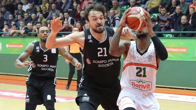 Beşiktaş seriye devam etti