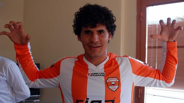 Adana'ya yeni golcü