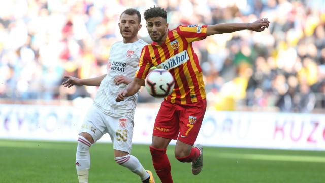 Kayserispor'un 5 maçlık galibiyet hasreti bitti