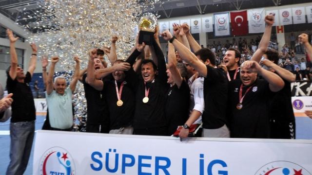 Hentbolda şampiyon Beşiktaş