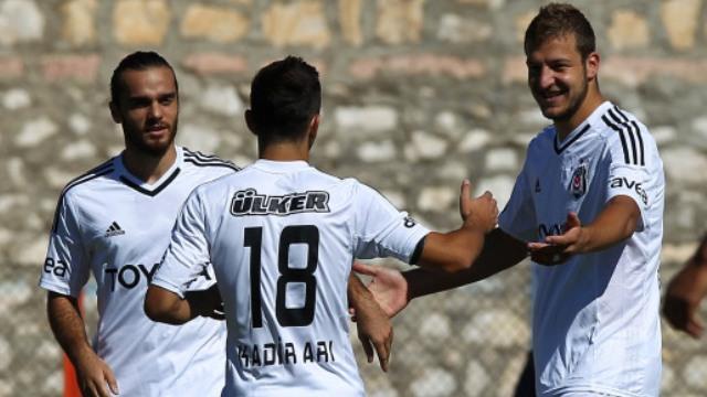 Beşiktaş Direkten Döndü