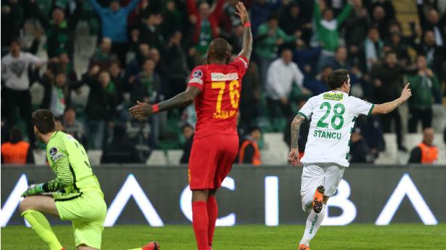 Bursaspor 2018'de ilk defa güldü